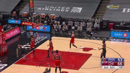 Melhores momentos: Phoenix Suns 106 x 97 Chicago Bulls pela NBA
