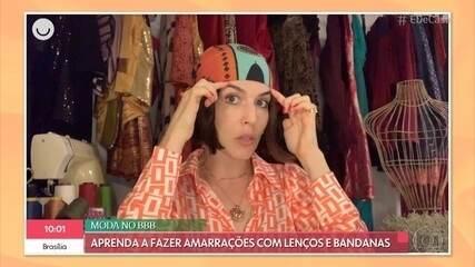 Karen Brusttolin dá dicas para entrar na moda das bandanas