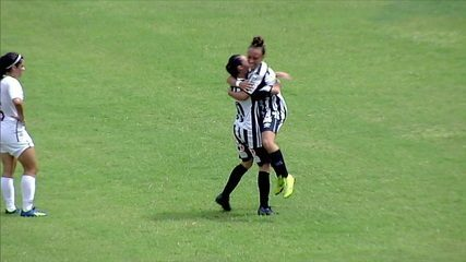 Os gols de Fluminense 1 x 1 Santos pelo Campeonato Brasileiro de futebol feminino