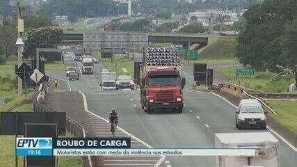 Número de roubos de carga aumenta na região de Ribeirão Preto, SP