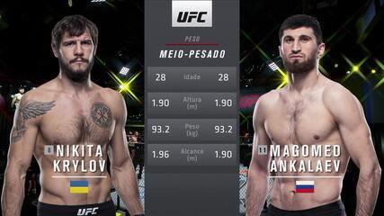 UFC Rozenstruik x Gané - Nikita Krylov x Magomed Ankalaev