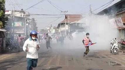 Mianmar vive o dia mais violento de repressão aos protestos contra golpe militar