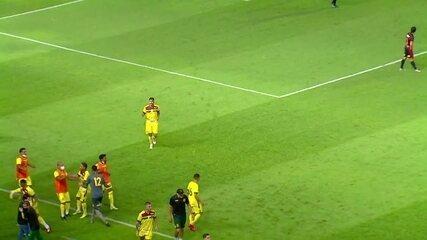 Veja os gols de Sport 1 x 1 Sampaio Corrêa pela Copa do Nordeste