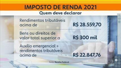 Receita Federal começa a receber declarações do Imposto de Renda 2020