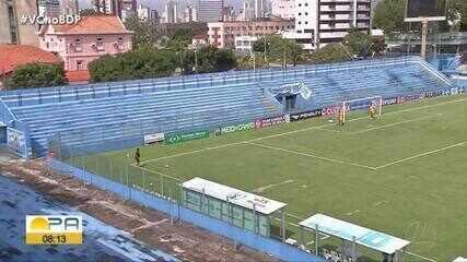 Paysandu 1 x 1 Castanhal: assista aos melhores momentos do jogo na Curuzu