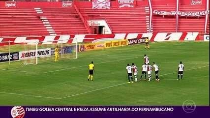 Contra o Central, na estreia, Náutico marcou quatro qual no primeiro tempo, marca que repetiu na quarta rodada, diante do Vitória-PE