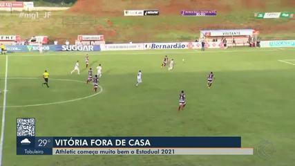 Athletic Club vence Patrocinense fora de casa na estreia no Mineiro