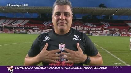 Sem pressa, Atlético-GO busca substituto de Marcelo Cabo