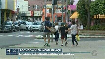 Entenda as restrições de circulação que começam nesta terça-feira (2) em Mogi Guaçu