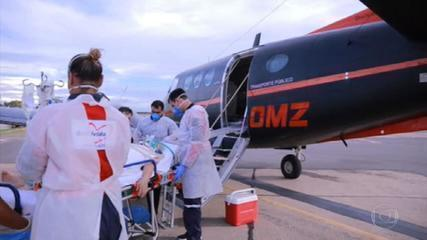 No Maranhão, pacientes estão sendo transferidos do interior para São Luís