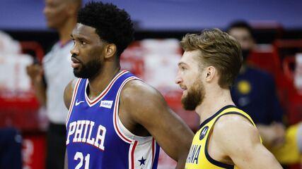 Melhores momentos: Philadelphia 76ers 130 x 114 Indiana Pacers pela NBA