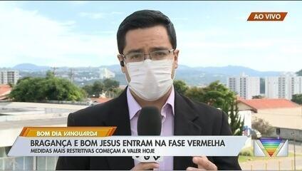 Com lotação nos leitos hospitalares, Bragança Paulista entra na fase vermelha