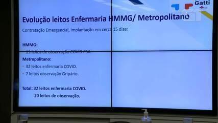 Presidente da Rede Mário Gatti, Sérgio Bisogni, comenta ampliação de leitos em Campinas
