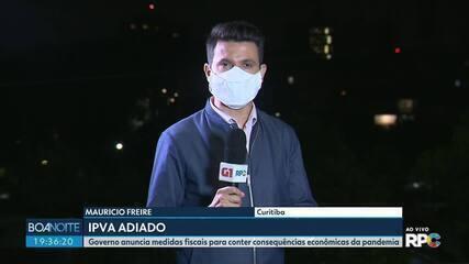 Governo anuncia medidas fiscais para conter consequências econômicas da pandemia