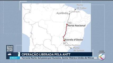 ANTT libera operação de ferrovia que passa pelo Triângulo Mineiro