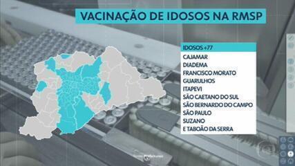 VACINAÇÃO NA REGIÃO METROPOLITANA DE SP