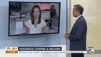 Preso em Paraíba do Sul suspeito de tentar assassinar a ex-esposa a facadas