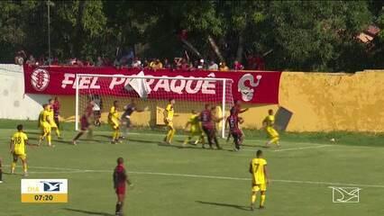 Sampaio 0x0 Juventude, jogo pela terceira rodada do Campeonato Maranhense