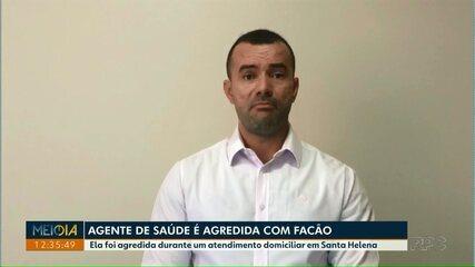 Agente de saúde é agredida com facão em Foz do Iguaçu