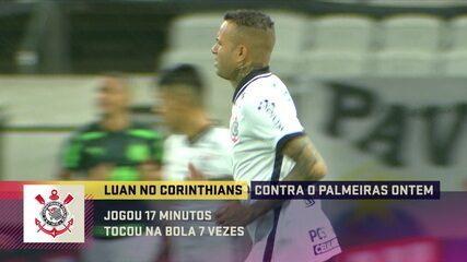 Comentaristas debatem sobre o Luan, atacante do Corinthians