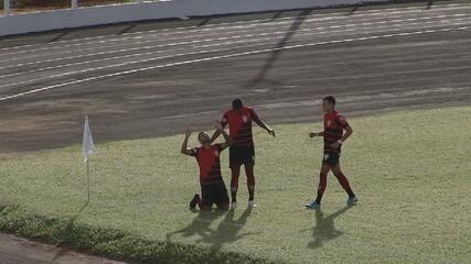 Veja os gols da vitória do Atlético-GO por 2 a 0 sobre o Crac