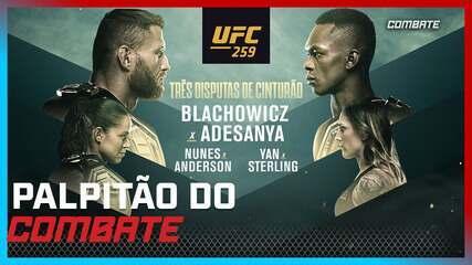 Palpitão do Combate | UFC 259