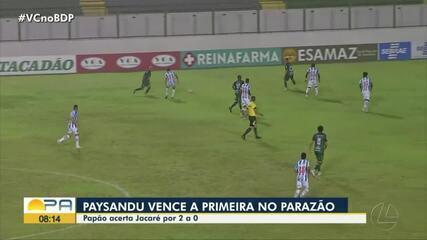 Paragominas 0 x 2 Paysandu: ASSISTA aos principais lances do jogo