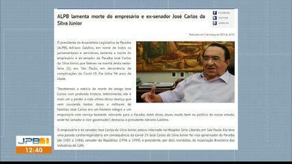 Políticos e autoridades lamentam morte do empresário José Carlos da Silva