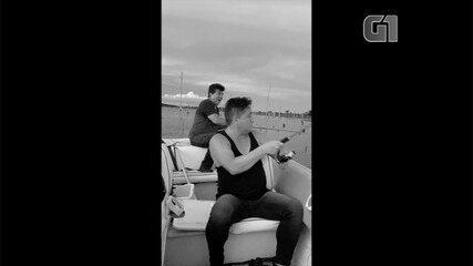 Leonardo posta vídeo em preto e branco com música para homenagear amigo que morreu baleado