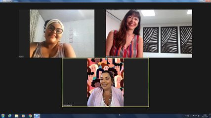 'Falas Femininas': ambulante baiana Gleice Araújo e atriz Fabiana Karla falam do especial