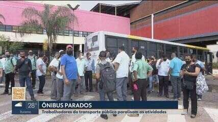 Nova paralisação no transporte coletivo de Uberlândia ocorre por pagemento de salários