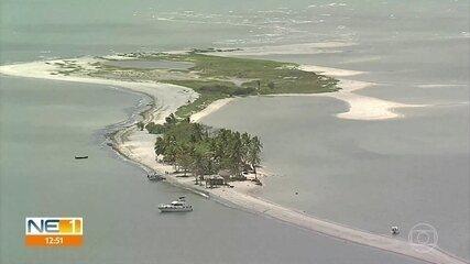 Praias do Litoral de Pernambuco têm baixa movimentação de pessoas devido a restrições