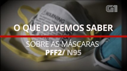 O que devemos saber sobre as máscaras PFF2/ N95
