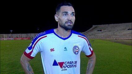 Gilberto fala sobre a goleada do Bahia contra o Campinense