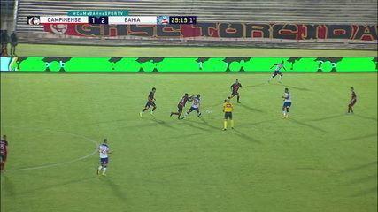 Melhores momentos: Campinense 1 x 7 Bahia, pela primeira fase da Copa do Brasil