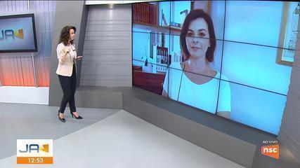 Dagmara Spautz fala sobre as ações de combate à pandemia em SC