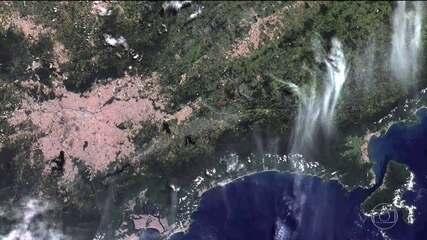 INPE divulga as primeiras imagens obtidas pelo primeiro satélite 100% brasileiro