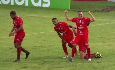 O gol de 4 de Julho 1 x 0 Confiança pela 1ª fase da Copa do Brasil 2021