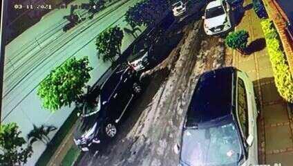 Vídeo mostra assalto à primeira-dama de Cuiabá