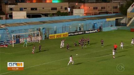 Salgueiro vence o Santa Cruz em disputa na Copa do Nordeste