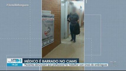 Paciente denuncia médico bêbado e sem máscara em unidade de saúde de Goiânia