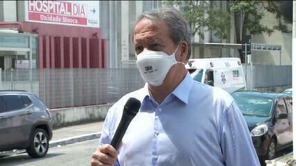 São Paulo: secretário municipal de Saúde admite possibilidade de colapso