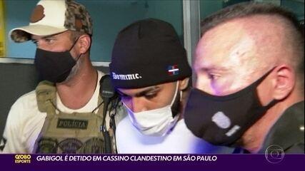 Gabigol é detido em cassino clandestino em São Paulo