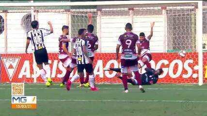 Patrocinense é derrotado pelo Atlético-MG no Independência