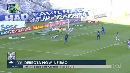 Atlético perde para Cruzeiro, sai do Mineiro G4