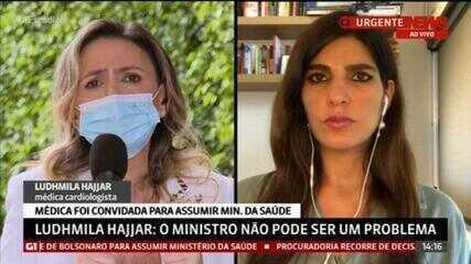 Ludhmila Hajjar comenta tratamento precoce e entubação