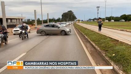 Covid-19: homem bloqueia rodovia no DF e aciona ambulância para socorrer mãe com falta de ar