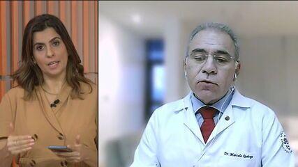 'Grande responsabilidade num momento como este', diz novo ministro da Saúde, Marcelo Queiroga
