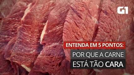 Carne está mais cara: entenda por que em 5 pontos