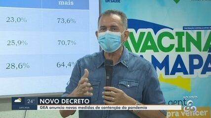 Covid-19: Governador anuncia 'lockdown' para o Amapá após estado entrar em fase crítica